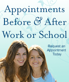 Appointments Before and After Work or School